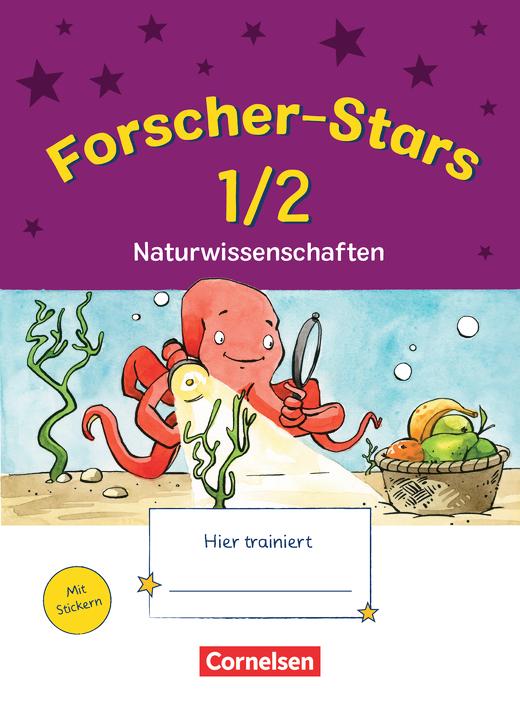 Forscher-Stars - Naturwissenschaften - Übungsheft - 1./2. Schuljahr