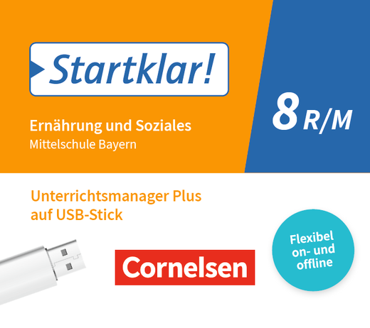 Startklar! - Unterrichtsmanager Plus auf USB-Stick - 8. Jahrgangsstufe