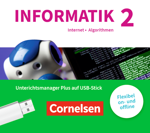Informatik (Oldenbourg) - Begleitmaterial auf USB-Stick - Band 2