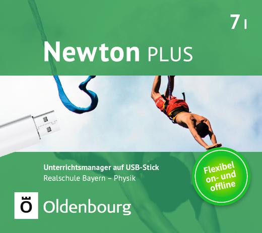 Newton plus - Unterrichtsmanager Plus auf USB-Stick - 7. Jahrgangsstufe - Wahlpflichtfächergruppe I
