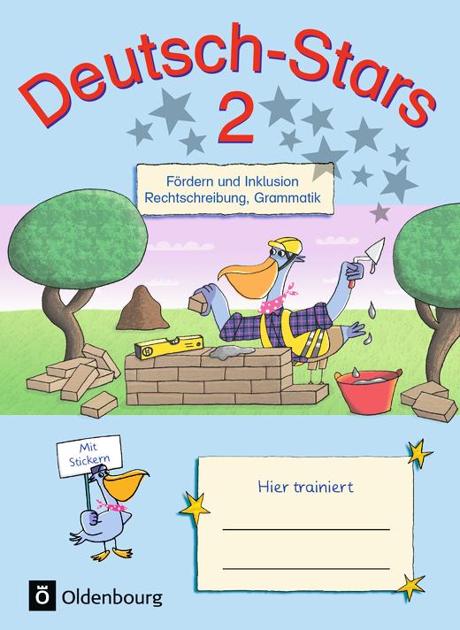 Deutsch-Stars - Fördern und Inklusion - Übungsheft - 2. Schuljahr