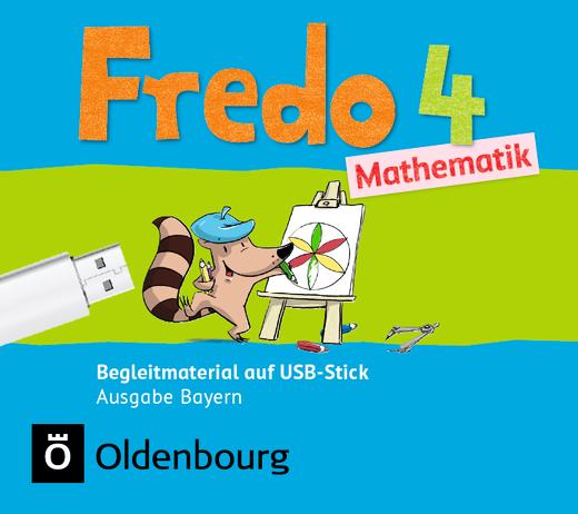 Fredo - Mathematik - Begleitmaterial auf USB-Stick - 4. Jahrgangsstufe
