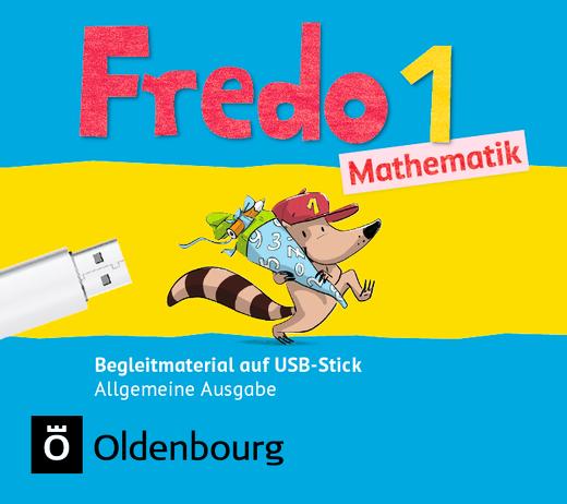 Fredo - Mathematik - Begleitmaterial auf USB-Stick - 1. Schuljahr