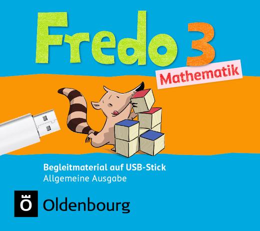 Fredo - Mathematik - Begleitmaterial auf USB-Stick - 3. Schuljahr