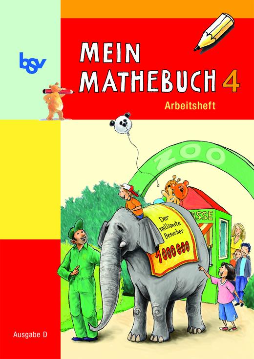 Mein Mathebuch - Arbeitsheft mit Kartonbeilagen - 4. Schuljahr