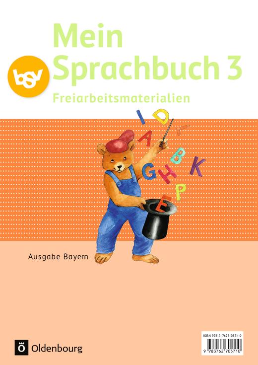 Mein Sprachbuch - Freiarbeitsmaterialien - 3. Jahrgangsstufe