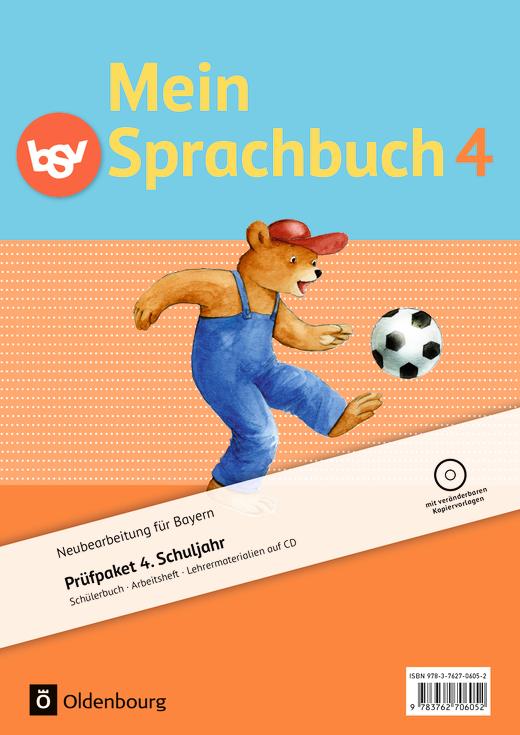 Mein Sprachbuch - Produktpaket - 4. Jahrgangsstufe