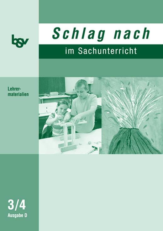Schlag nach im Sachunterricht - Lehrermaterialien im Ordner - 3./4. Schuljahr