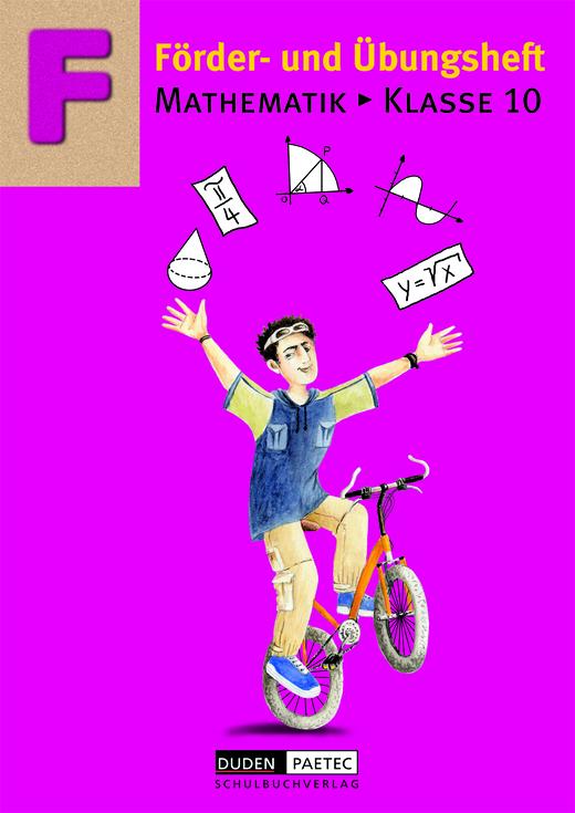 Förderhefte Mathematik - Übungsheft - 10. Schuljahr