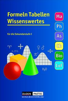 Formeln Tabellen Wissenswertes - Formelsammlung