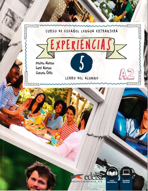 Experiencias - Libro del alumno 5 - A2