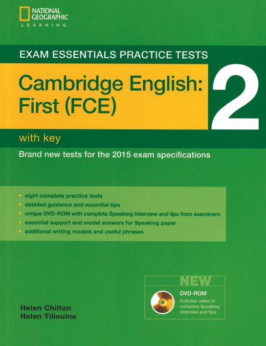 Exam Essentials Practice Tests - Practice Tests 2 - Practice Tests with Key and DVD-ROM - Cambridge English: First (FCE)