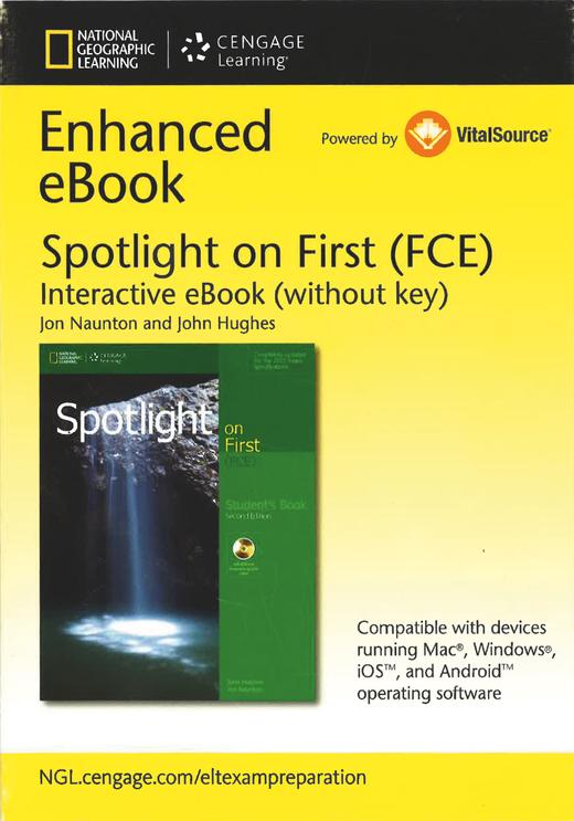 Spotlight - Interactive Student's E-Book (Printed Access Code)