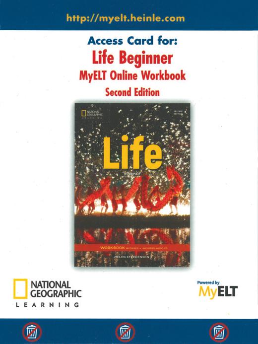 Life - Online Workbook (Printed Access Code) - A0/A1.1: Beginner