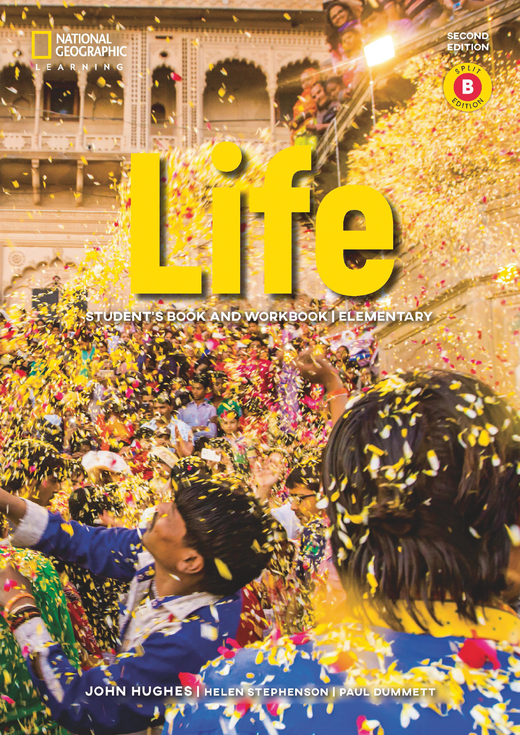 Life - Student's Book and Workbook (Combo Split Edition B) + Audio-CD + App - A1.2/A2.1: Elementary