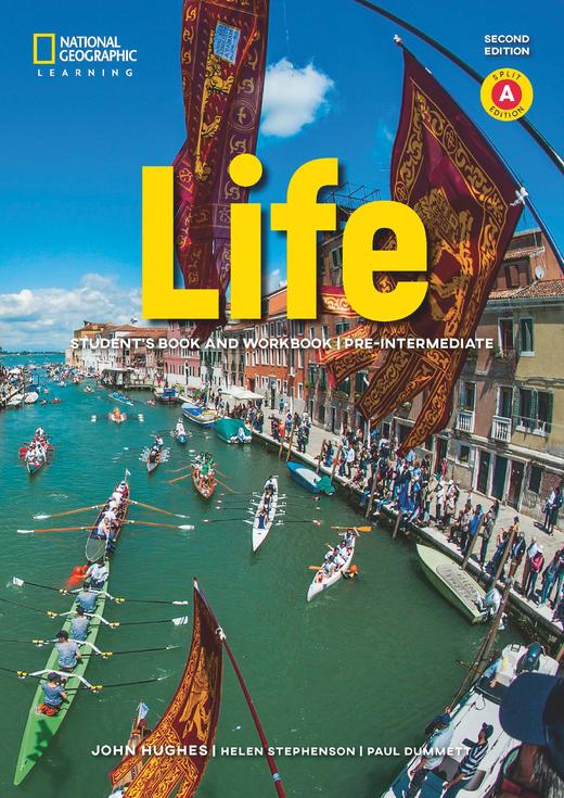 Life - Student's Book and Workbook (Combo Split Edition A) + Audio-CD + App - A2.2/B1.1: Pre-Intermediate
