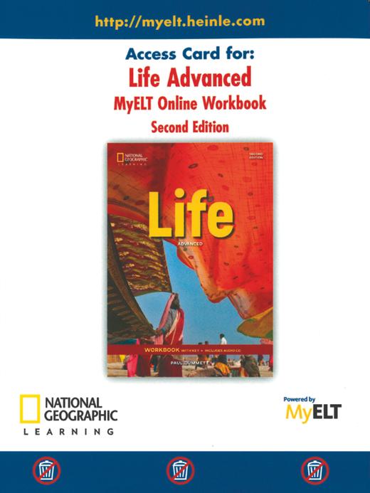 Life - Online Workbook (Printed Access Code) - C1.1/C1.2: Advanced