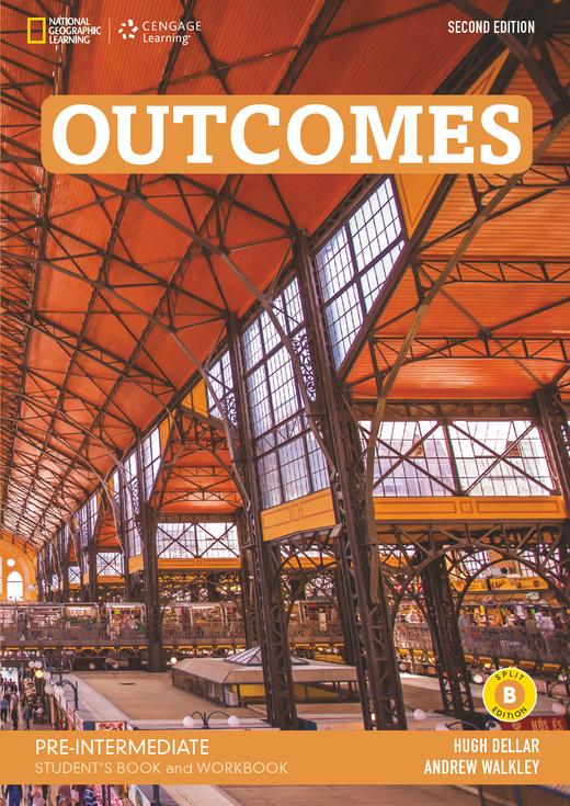 Outcomes - Student's Book and Workbook (Combo Split Edition B) + Audio-CD + DVD-ROM - A2.2/B1.1: Pre-Intermediate