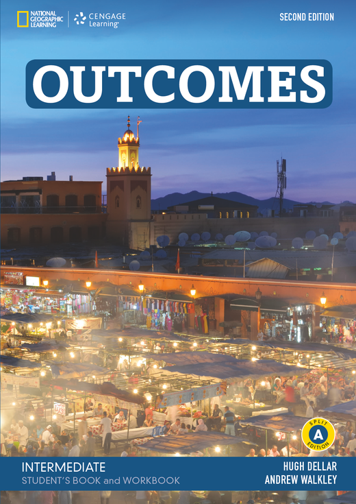 Outcomes - Student's Book and Workbook (Combo Split Edition A) + Audio-CD + DVD-ROM - B1.2/B2.1: Intermediate