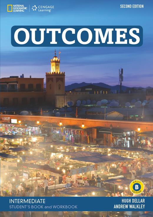 Outcomes - Student's Book and Workbook (Combo Split Edition B) + Audio-CD + DVD-ROM - B1.2/B2.1: Intermediate