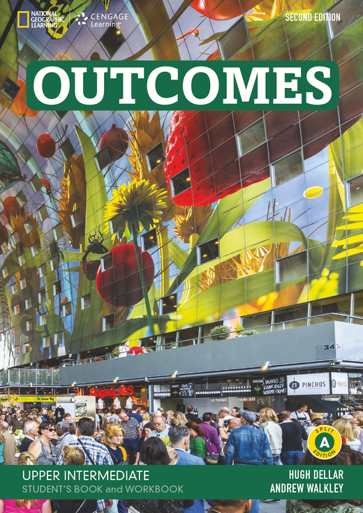 Outcomes - Student's Book and Workbook (Combo Split Edition A) + Audio-CD + DVD-ROM - B2.1/B2.2: Upper Intermediate