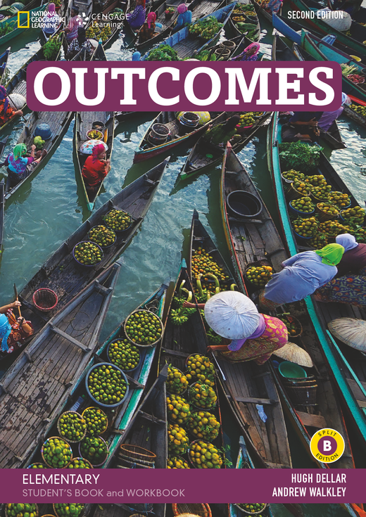 Outcomes - Student's Book and Workbook (Combo Split Edition B) + Audio-CD + DVD-ROM - A1.2/A2.1: Elementary