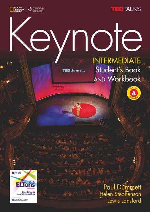 Keynote - Student's Book and Workbook (Combo Split Edition A) + DVD-ROM - B1.2/B2.1: Intermediate