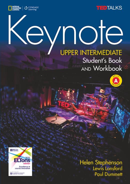 Keynote - Student's Book and Workbook (Combo Split Edition A) + DVD-ROM - B2.1/B2.2: Upper Intermediate