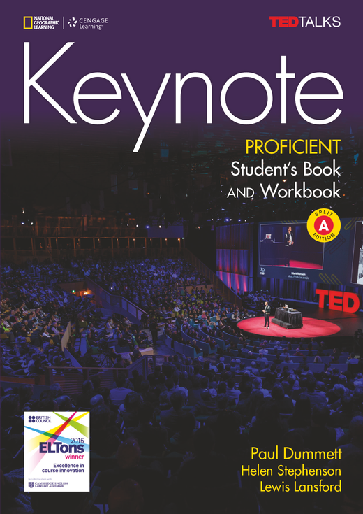 Keynote - Student's Book and Workbook (Combo Split Edition A) + DVD-ROM - C2.1/C2.2: Proficient