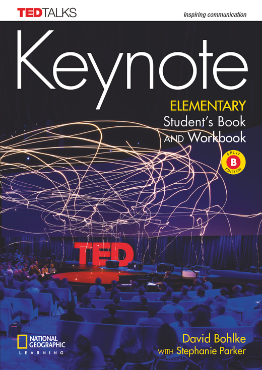 Keynote - Student's Book and Workbook (Combo Split Edition B) + DVD-ROM - A1.2/A2.1: Elementary