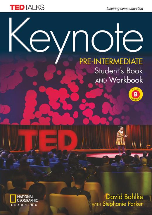 Keynote - Student's Book and Workbook (Combo Split Edition B) + DVD-ROM - A2.2/B1.1: Pre-Intermediate
