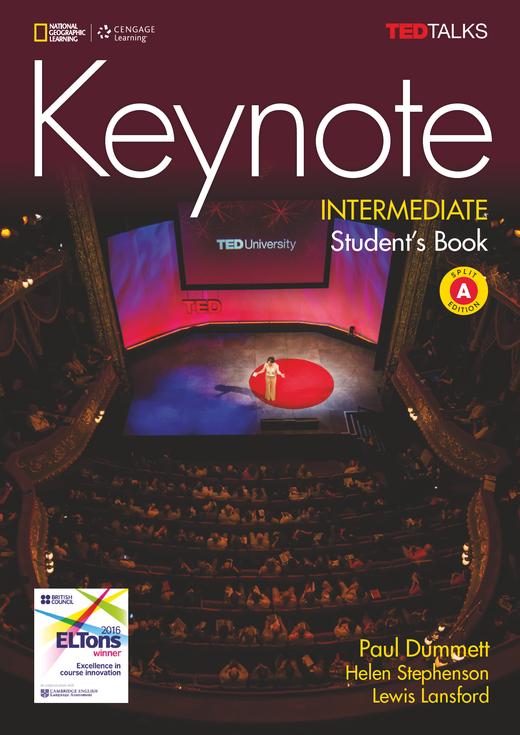 Keynote - Student's Book (Split Edition A) + DVD - B1.2/B2.1: Intermediate