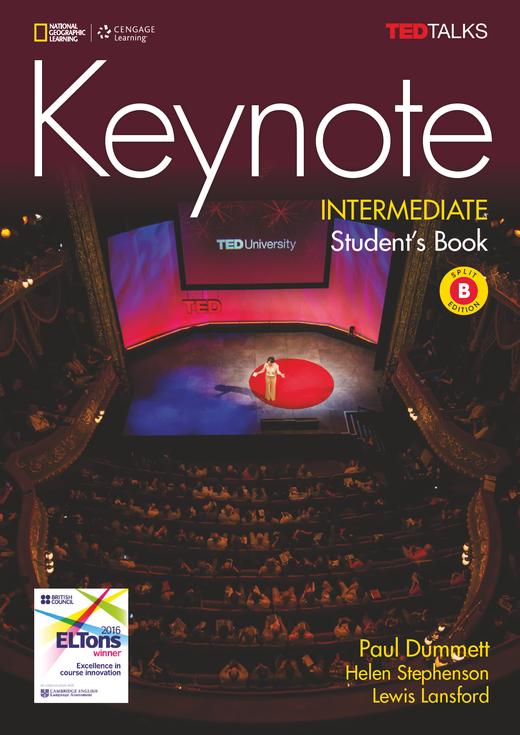 Keynote - Student's Book (Split Edition B) + DVD - B1.2/B2.1: Intermediate