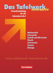 Das Tafelwerk interaktiv - Schülerbuch