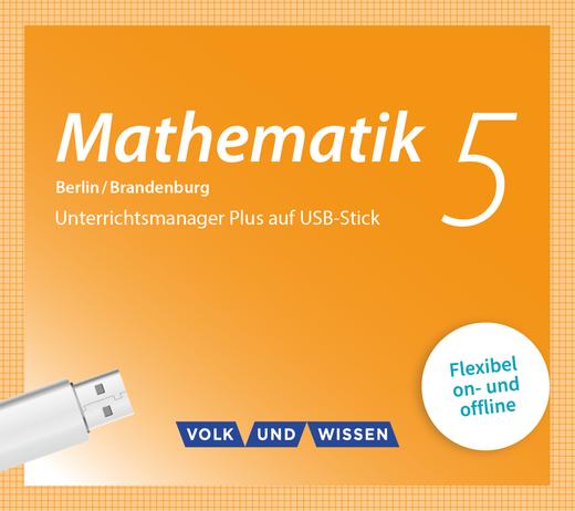 Mathematik - Unterrichtsmanager Plus auf USB-Stick - 5. Schuljahr