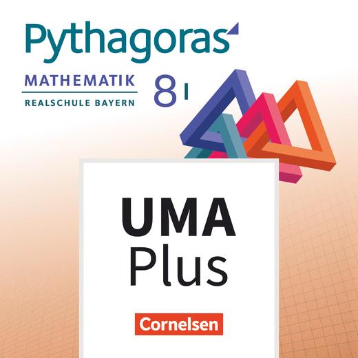 Pythagoras - Unterrichtsmanager Plus online - 8. Jahrgangsstufe (WPF I)