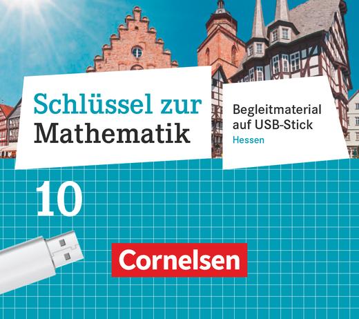 Schlüssel zur Mathematik - Unterrichtsmanager Plus auf USB-Stick - 10. Schuljahr