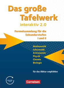 Das große Tafelwerk interaktiv 2.0 - Schülerbuch