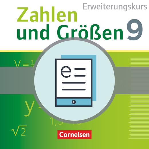 Zahlen und Größen - Schülerbuch als E-Book - 9. Schuljahr - Erweiterungskurs