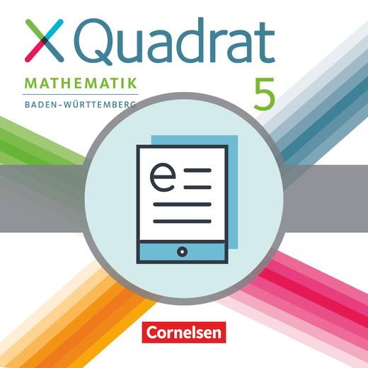 XQuadrat - Schülerbuch als E-Book - 5. Schuljahr