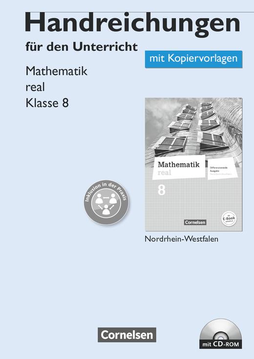 Mathematik real - Handreichungen für den Unterricht, Kopiervorlagen mit CD-ROM - 8. Schuljahr