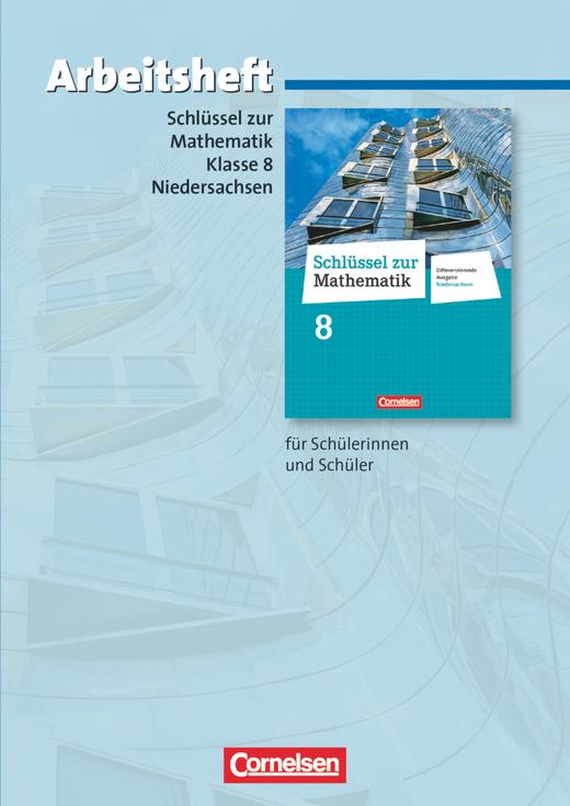 Schlüssel zur Mathematik - Arbeitsheft mit eingelegten Lösungen - 8. Schuljahr