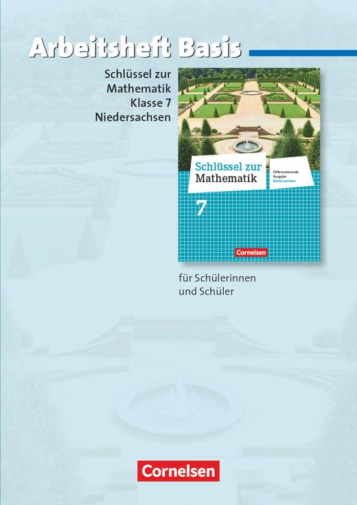 Schlüssel zur Mathematik - Arbeitsheft Basis mit eingelegten Lösungen - 7. Schuljahr