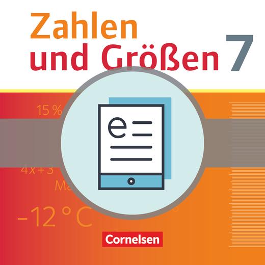 Zahlen und Größen - Schülerbuch als E-Book - 7. Schuljahr