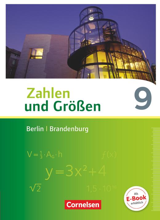 Zahlen und Größen - Schülerbuch - 9. Schuljahr