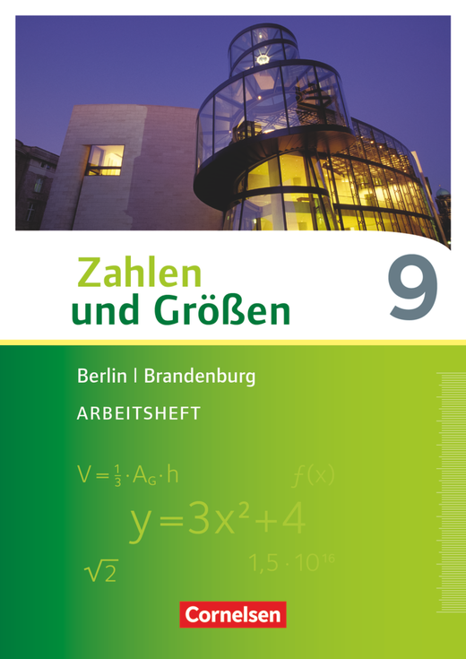 Zahlen und Größen - Arbeitsheft mit Online-Lösungen - 9. Schuljahr