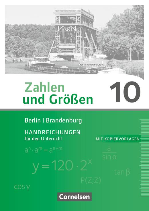 Zahlen und Größen - Handreichungen für den Unterricht - 10. Schuljahr