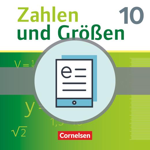 Zahlen und Größen - Schülerbuch als E-Book - 10. Schuljahr