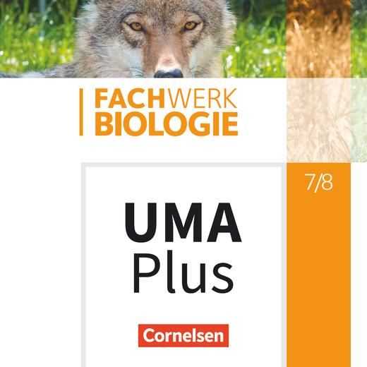 Fachwerk Biologie - Unterrichtsmanager Plus - mit Download für Offline-Nutzung - 7./8. Schuljahr