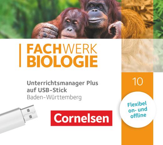 Fachwerk Biologie - Unterrichtsmanager Plus auf USB-Stick - 10. Schuljahr